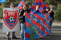 Fans des KFC Uerdingen sammeln sich zur Fandemo 2010