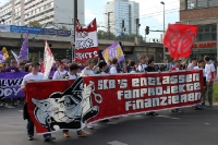 Fans des FSV Mainz 05 bei der Fandemo 2010