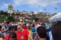 Deutsche Fans in Salvador da Bahia