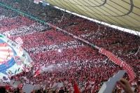 Choreographie des FC Bayern München beim Pokalfinale 2013
