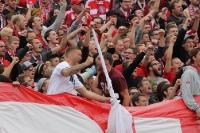 Fans / Ultras Bayern München in Münster