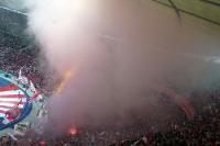 Fans des FC Bayern München beim DFB-Pokalfinale