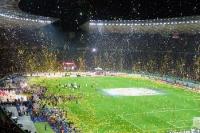 FC Bayern München feiert den DFB-Pokalsieg 2013