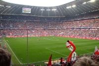 Heimspiel des FC Bayern München in der Allianz-Arena