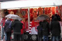 Fanartikelstand des FC Bayern München