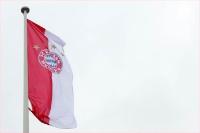 Flagge des FC Bayern München