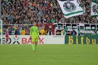 Manuel Neuer vor Heimkurve Münster