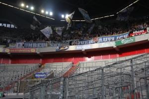 Support Jena Fans in Düsseldorf gegen Krefeld 2019