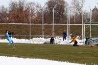 FC Eilenburg beim Pokalspiel gegen Chemnitzer FC