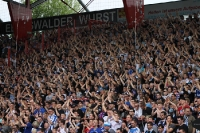 Toller Support der Rostocker Fans / Ultras beim 1. FC Union Berlin