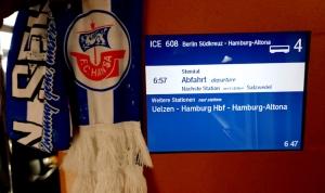 Auf dem Weg nach Hamburg