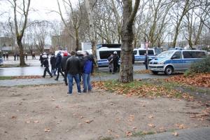 Ausschreitungen Rostock in Duisburg gegen Krefeld 08-12-2018