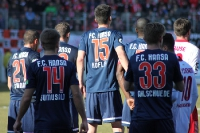 F. C. Hansa Rostock beim Halleschen FC