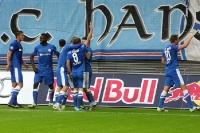 FC Hansa Rostock geht bei RB Leipzig in Führung