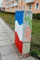 Flagge zeigen in Eisenhüttenstadt
