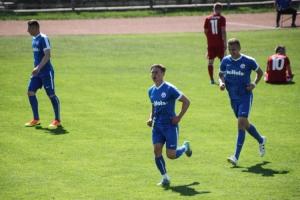 Hansa Amateure feiern Sieg in Frankfurt Oder
