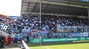 Hansa Rostock zu Gast in Cottbus