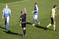 Umkämpfte Partie: FC Hansa Rostock - FC Erzgebirge Aue