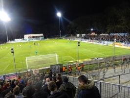 Rostock Fans bei Viktoria Köln Dezember 2019