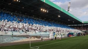 Rostocker Choreo im Ostseestadion