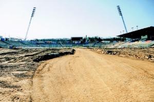 Umbau des Ostseestadions