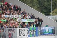 FC Kray Banner: Pro Kray-Arena