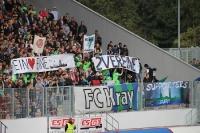 FC Kray Fans im Stadion Essen 29-09-2012
