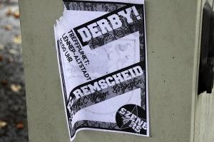 Szene Remscheid Derbyaufruf gegen Solingen