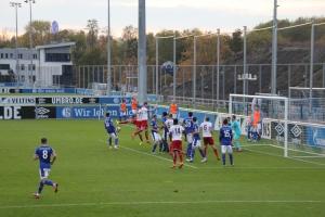 Spielszenen Schalke 04 U23 gegen Rot-Weiss Essen 31-10-2020