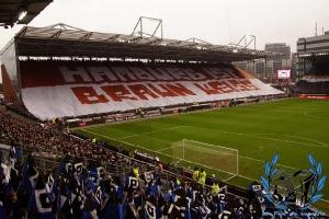 Choreo des FC St. Pauli
