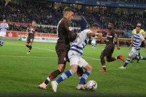 Spielszenen St. Pauli in Duisburg 22.10.2018