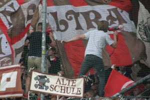 St Pauli Fans Support in Bochum