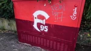 Graffiti von Fortuna Düsseldorf