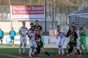 Rot-Weiss Essen vs. Fortuna Köln Spielszenen 07-03-2021