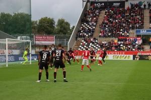 Rot-Weiss Essen vs. Foruna Köln 29-08-2021 Spielszenen