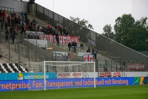 Fortuna Köln Fans in Essen August 2021