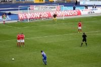 FSV Zwickau beim FC Carl Zeiss Jena
