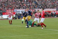 FSV Zwickau gegen RB Leipzig 0:1