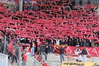 RED KAOS Ultrà Zwickau beim 1. FC Magdeburg
