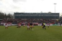 Regionalliga Duell FSV Zwickau gegen RB Leipzig