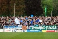 Fans und Ultras des SV Babelsberg 03 beim Heimspiel gegen Dynamo Dresden