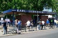 Karl-Liebknecht-Stadion in Babelsberg