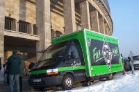 Fanmobil von Borussia Mönchengladbach