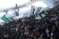 Gladbacher Fans in Berlin