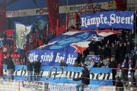 Anhänger / Ultras des TSV 1860 München beim 1. FC Union Berlin