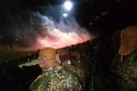 Bengalfackeln Legia Warschau