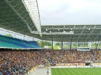 Dresden-Fans in Leipzig