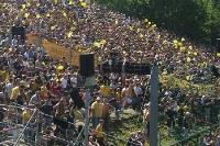 Fans von Dynamo Dresden in Berlin