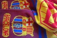 Fanschal des FC Barcelona