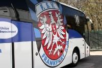 Mannschaftsbus des FSV Frankfurt / Main